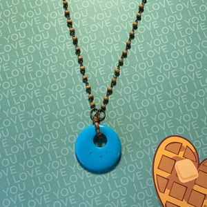 Handmade repurposed necklace